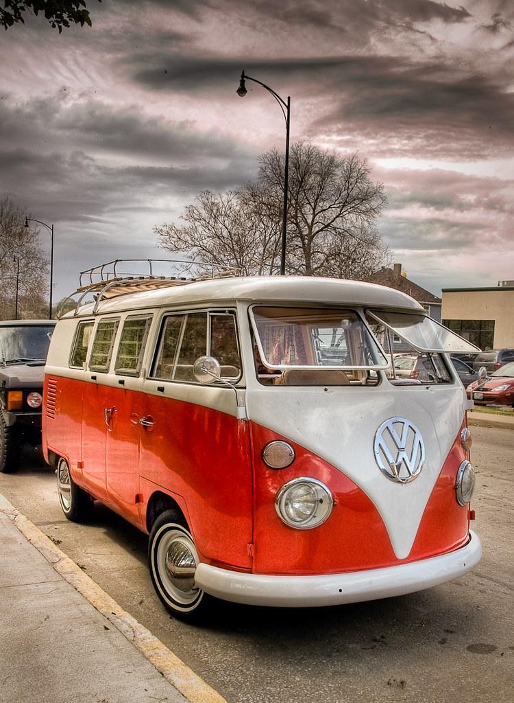 vw bus vintage vw bus in hdr kong1933 flickr. Black Bedroom Furniture Sets. Home Design Ideas