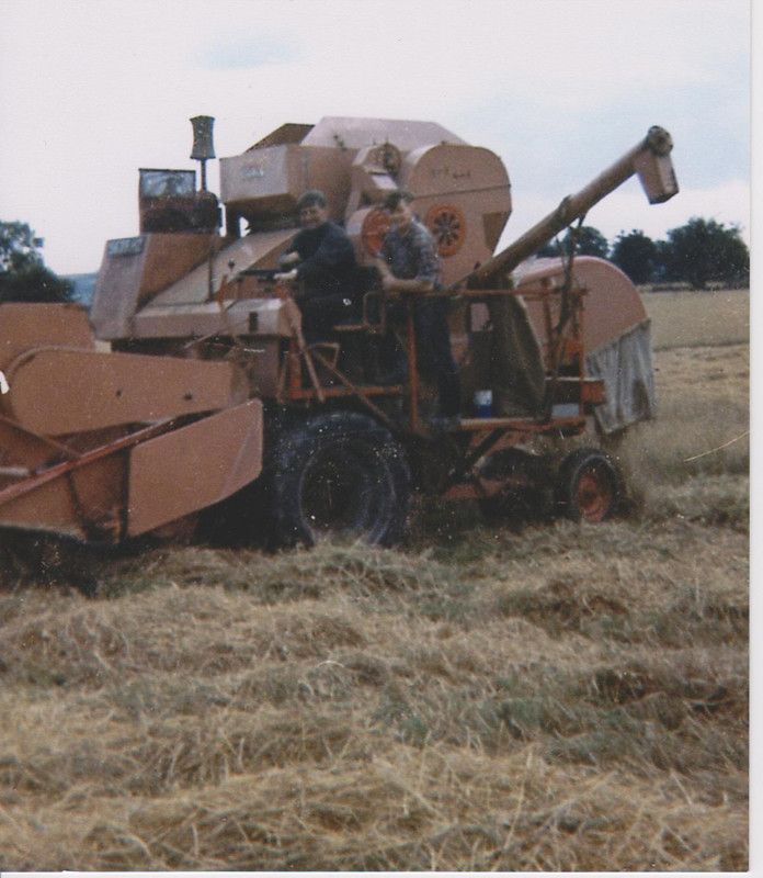 Combine Harvester in mid 1970s 001 | hIsTory Links | Flickr