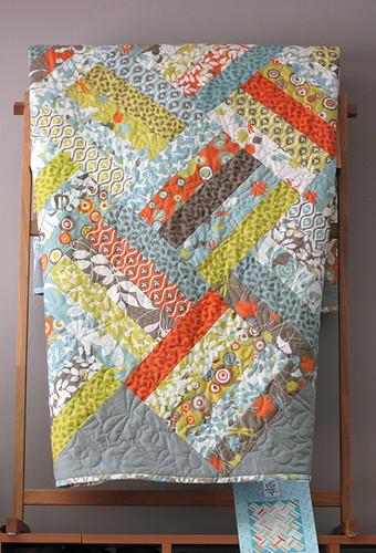 Fields Of Flowers Jelly Roll Quilt Bobbin S Nest Studio