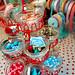 Cupcake tree craft storage