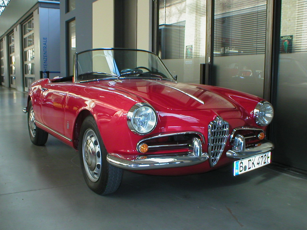 alfa romeo giulietta spider tipo 750 the alfa romeo giul flickr. Black Bedroom Furniture Sets. Home Design Ideas