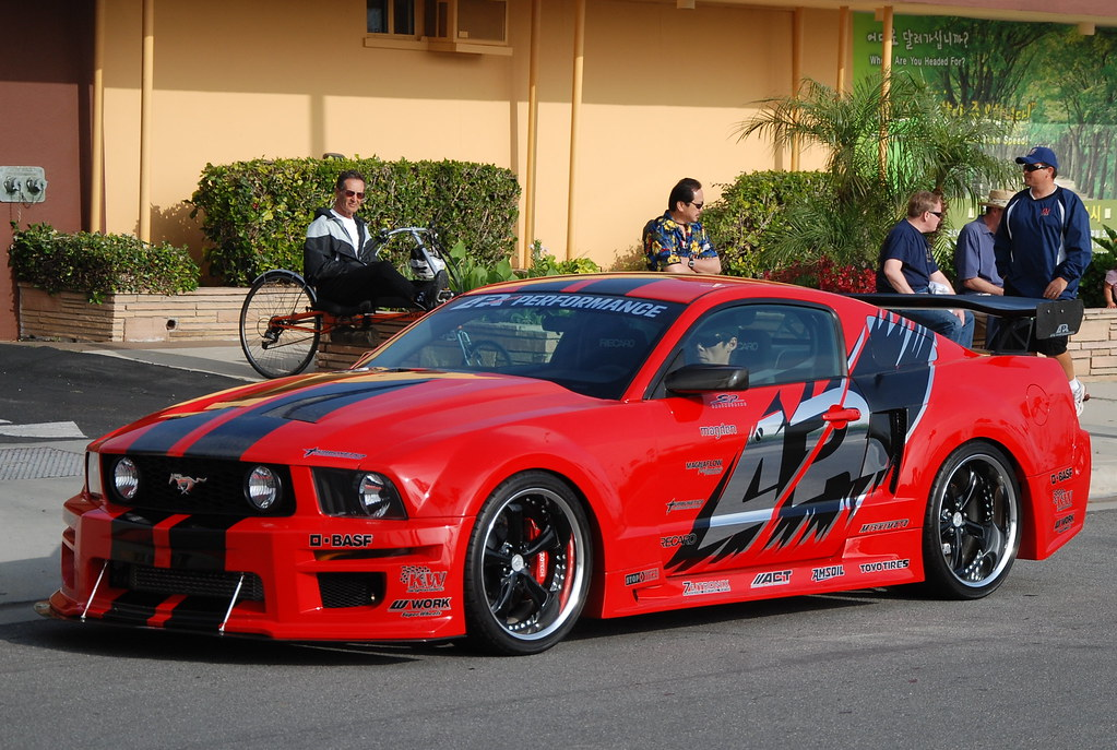 Customized Ford Mustang Gt Navymailman Flickr