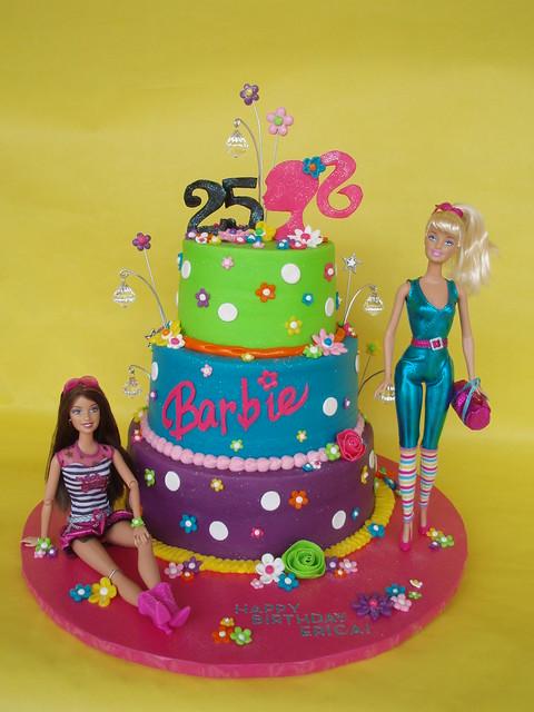 barbie birthday cakes games