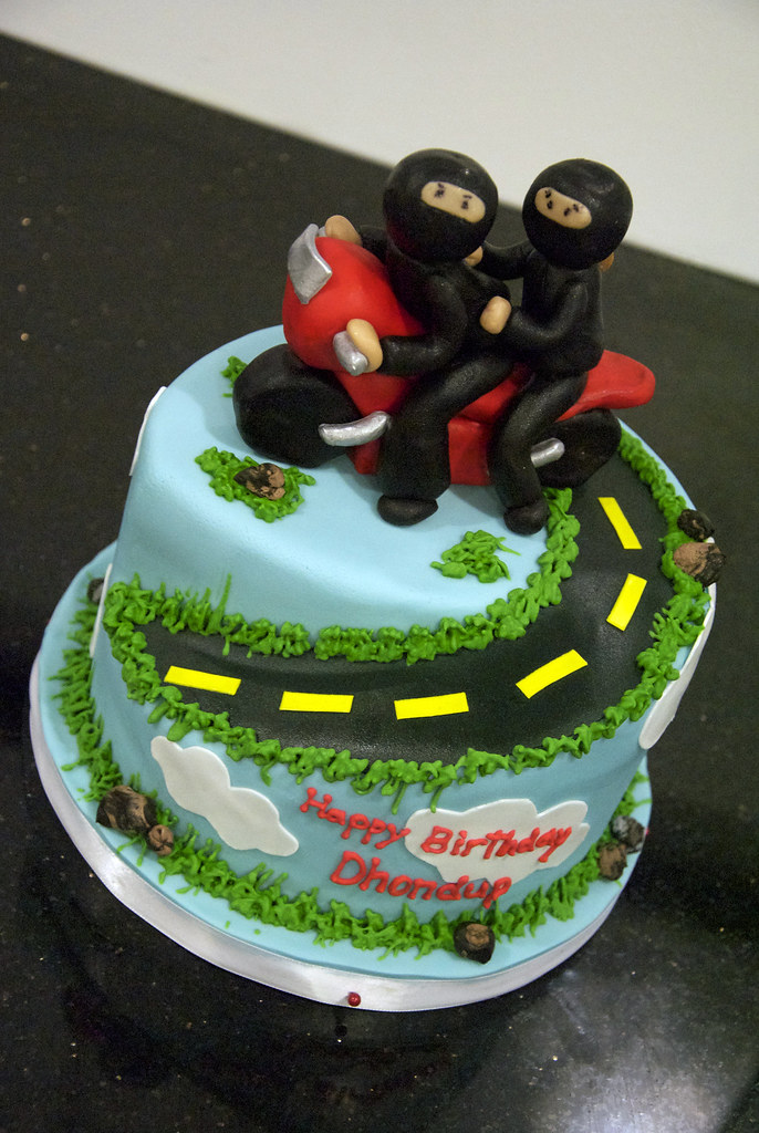 Images Of Motorcycle Birthday Cakes