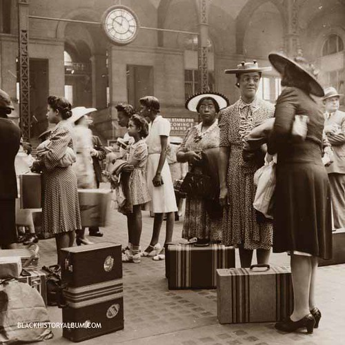 Midnight Train to Georgia  | 1942 | by Black History Album