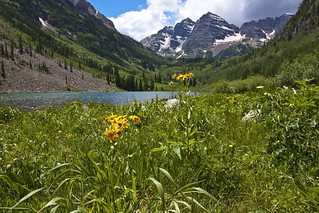 2010-07-03 Aspen & Maroon Bells | by brokenjade