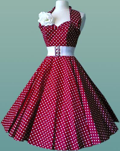 50s swing dress 1