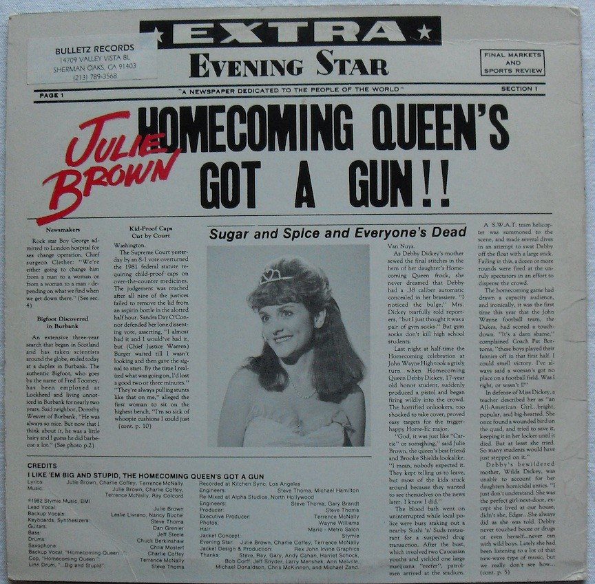 Image result for the homecoming queen's got a gun