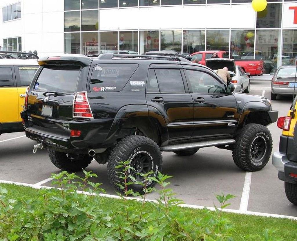 New Toyota 4runner Lifted >> 4th Gen. 4RUNNER LIFTED back | Larry James | Flickr