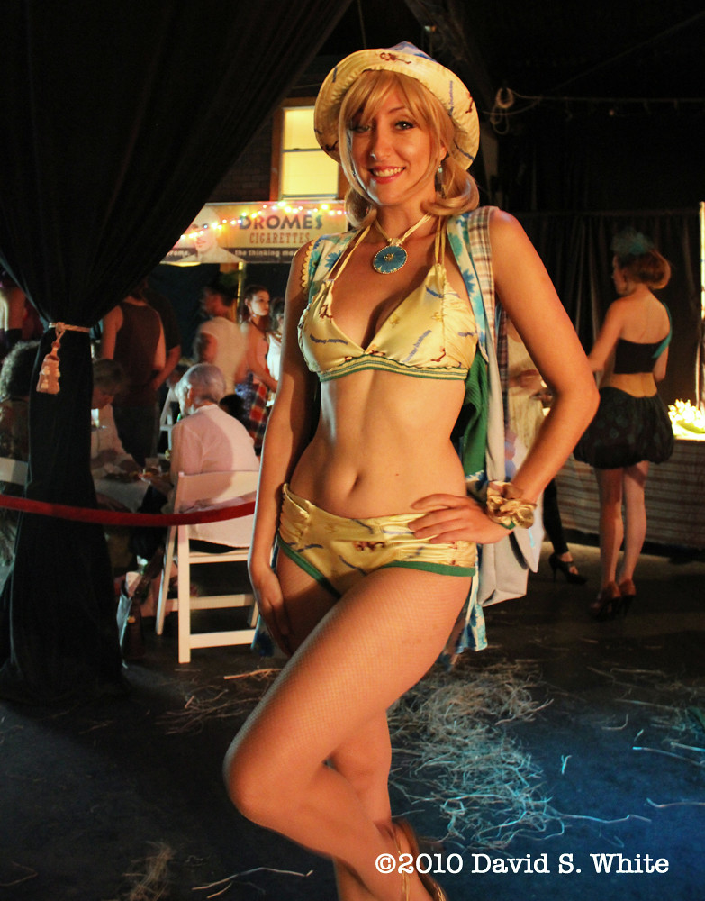 New Orleans >> Worn Again NOLA 4   Trixie Minx, modeling a bikini made from…   Flickr