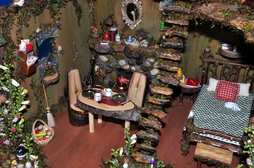 ... Fairy House With Furniture   By Torisaur