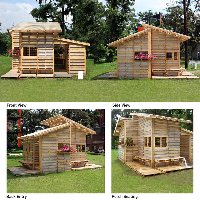 31 Creative Furniture Design Ideas For Small Homes Pallet House | Flickr - Photo Sharing!