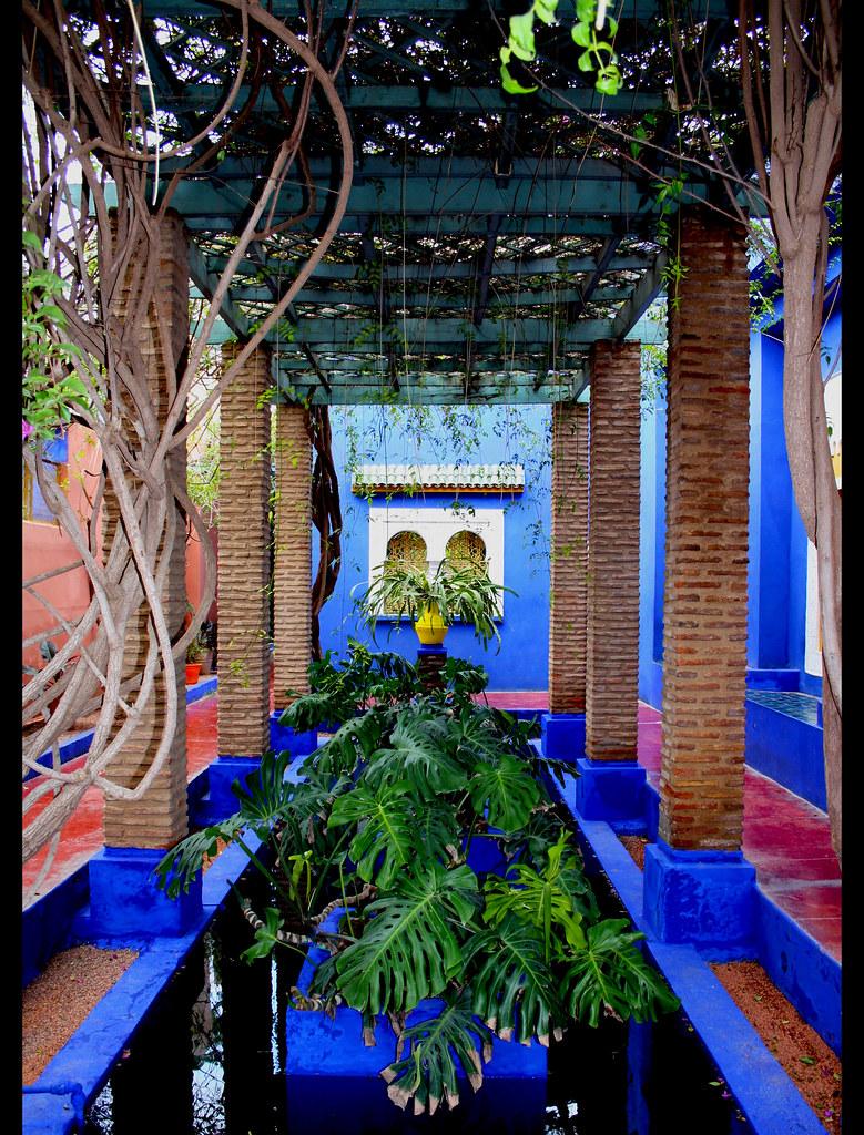 Jardin majorelle marrakech 94 marrakech nouvelle vill flickr - Jardin majorelle marrakech photos ...