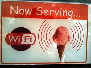 wi-fi ice cream | by erikadotnet