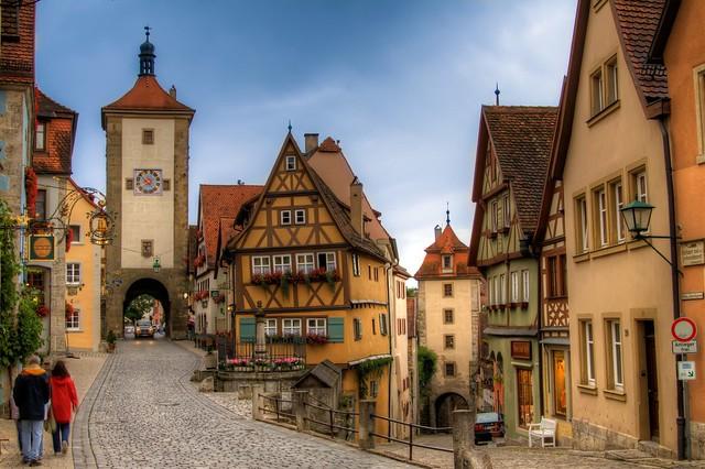 Bike und Building - Rothenburg ob der Tauber, Germany
