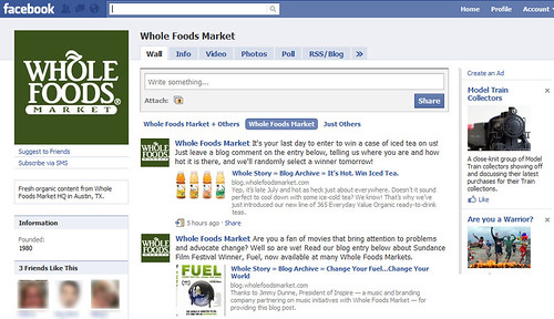 Whole Foods Market's page on Facebook | The Facebook page ...