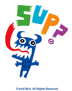 SUP ? t shirt graphic | by birdarts