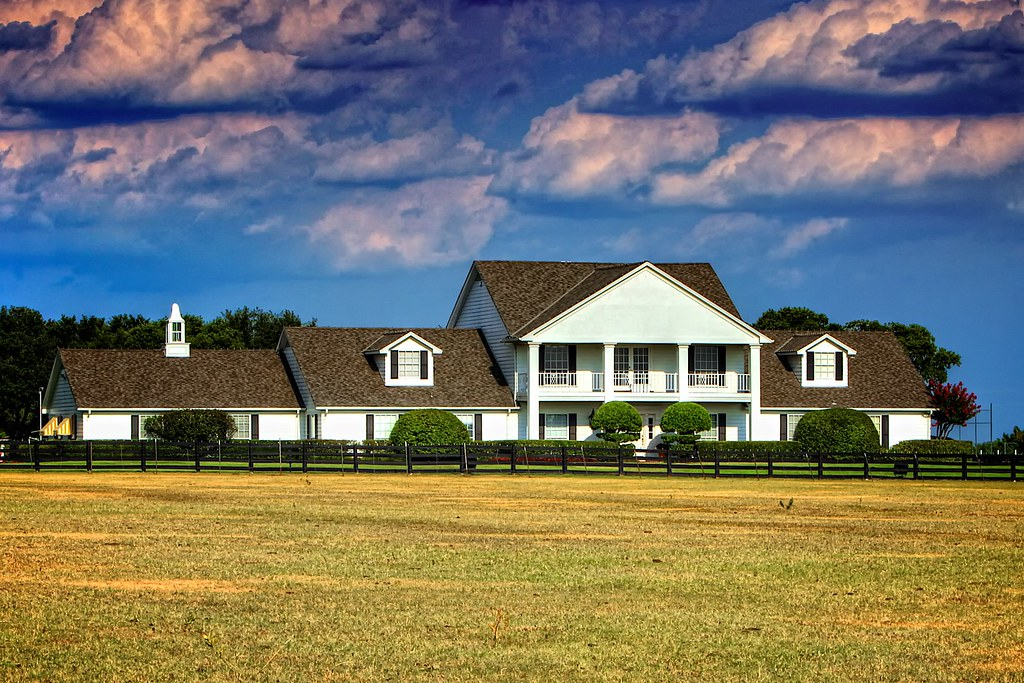 Southfork ranch i was out shooting locally yesterday in for Southfork house plan