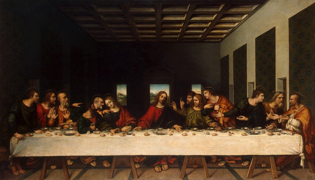 Unknown artist the last supper i thought you might be - Last supper 4k ...