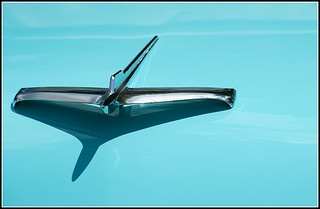 '56 Plymouth Hood Ornament | by jhoweaa