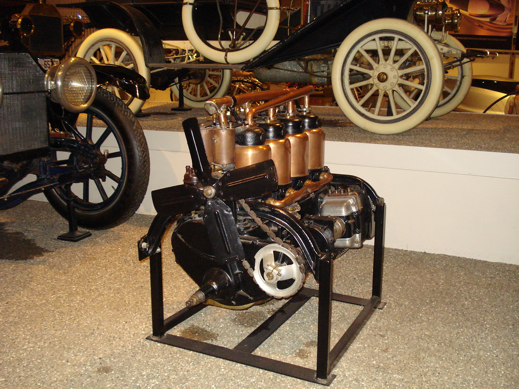 Early Car Engine Henry Ford Museum Dearborn Michigan Flickr