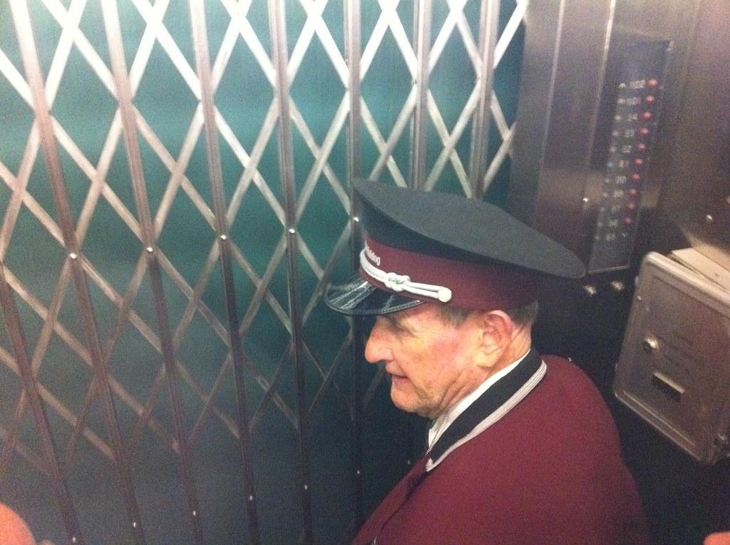 Elevator man to the 102nd floor derek lo flickr for 102nd floor