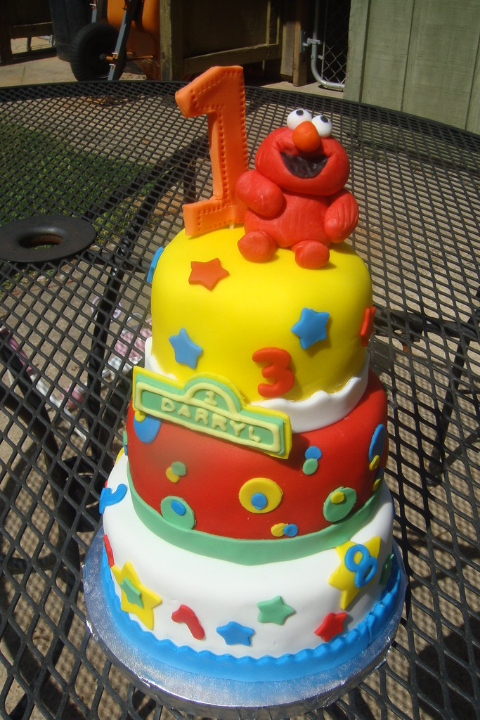 Elmo 1st Birthday Cake Celebrate Your First Birthday With Flickr