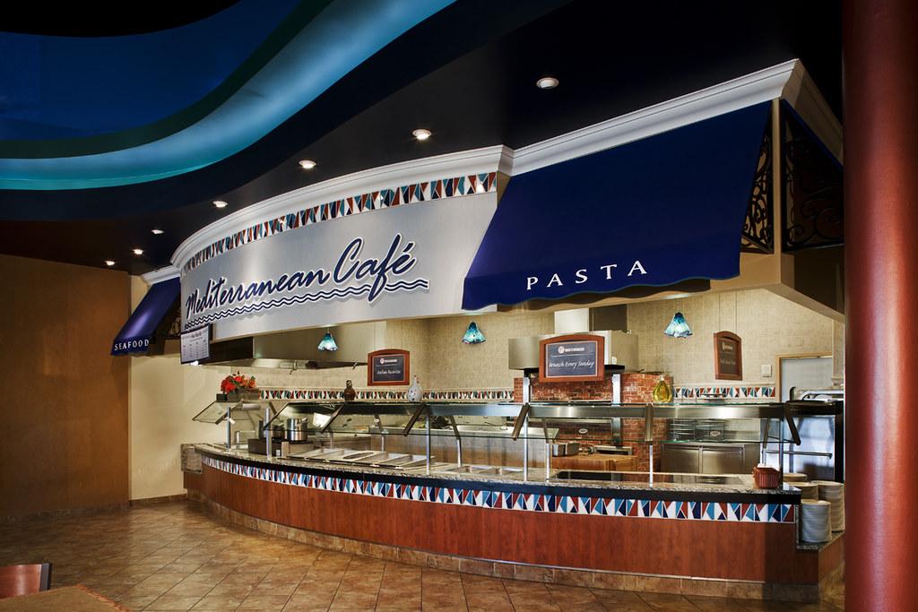Mediterranean Cafe Restaurant Theming Casino Cafe Ro