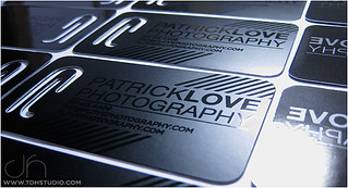 TDH STUDIO Business Card for : Patrick Love Photography | by TDH STUDIO
