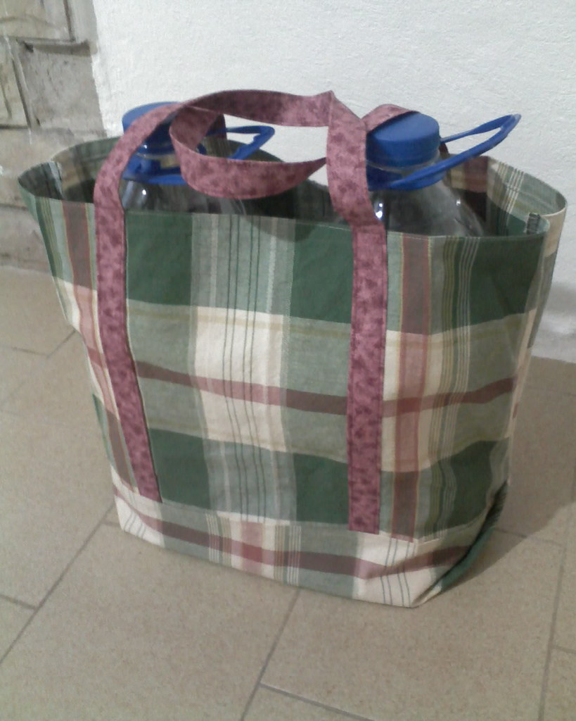 homemade shopping bag | the first of several I made | Flickr