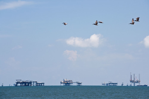 August 7, Nature and Industry in the Gulf | by usepagov