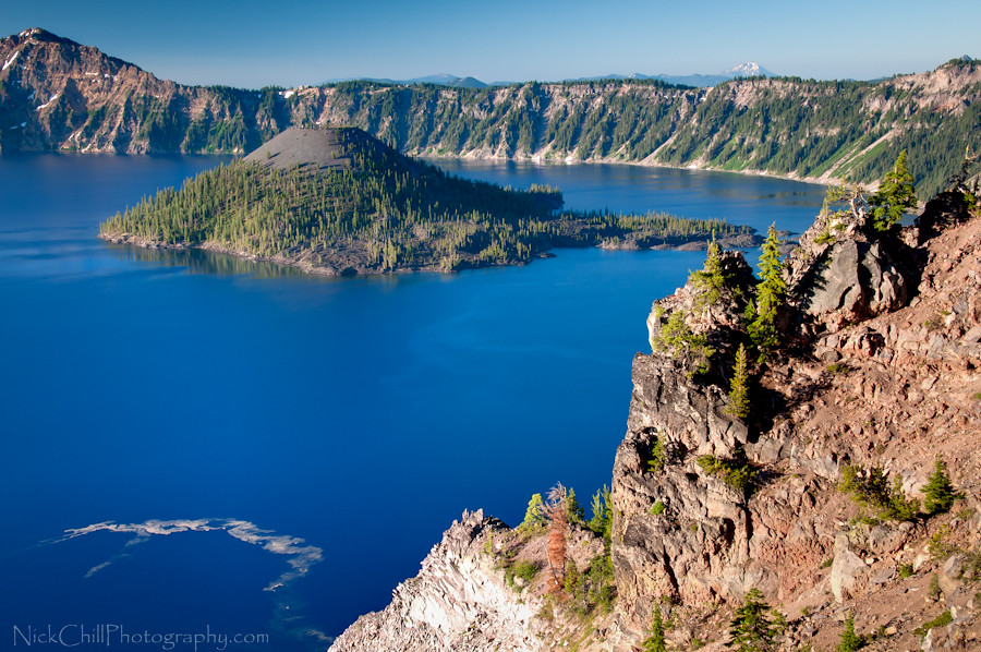 Crater Lake, Oregon   Crater Lake was formed when the ...