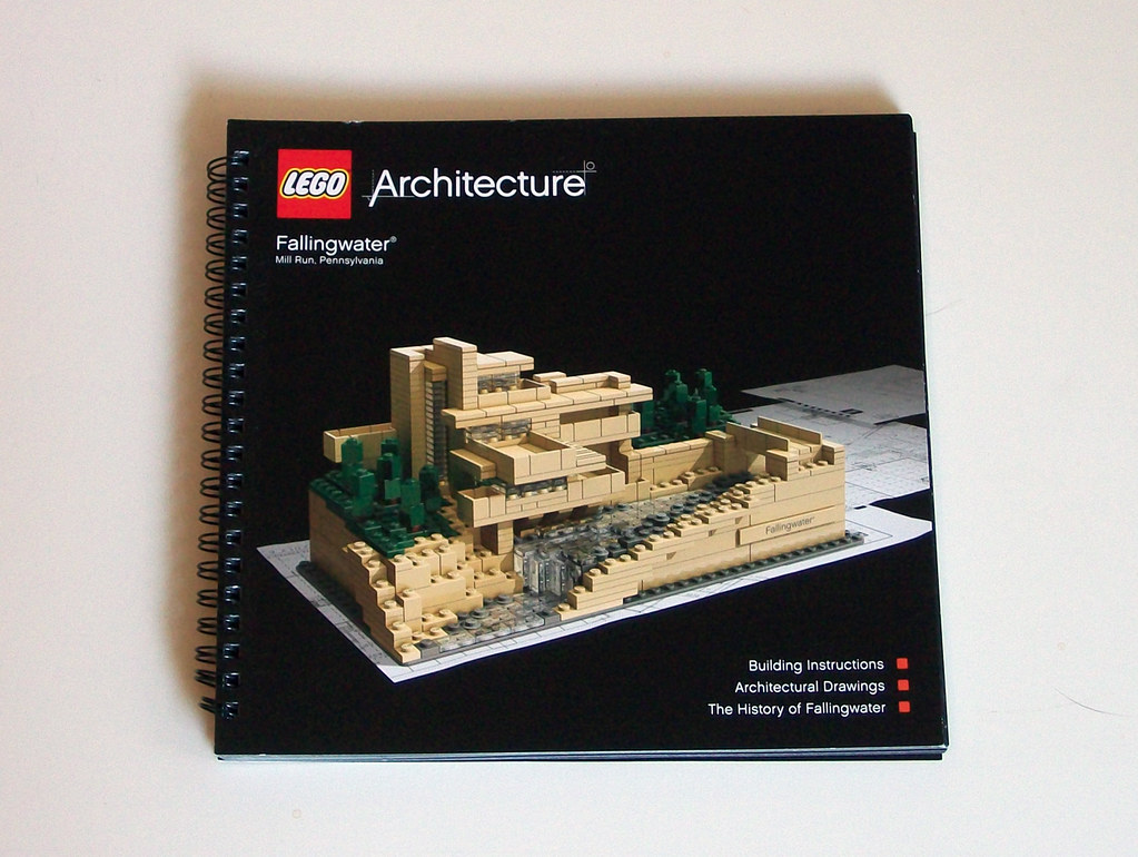Lego Architecture 21005 Fallingwater Review Instruction Flickr