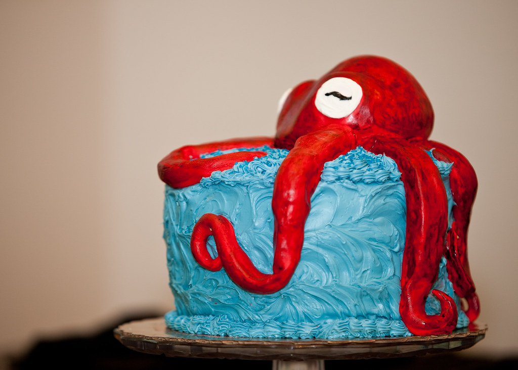 Octopus Cake Pan For Sale