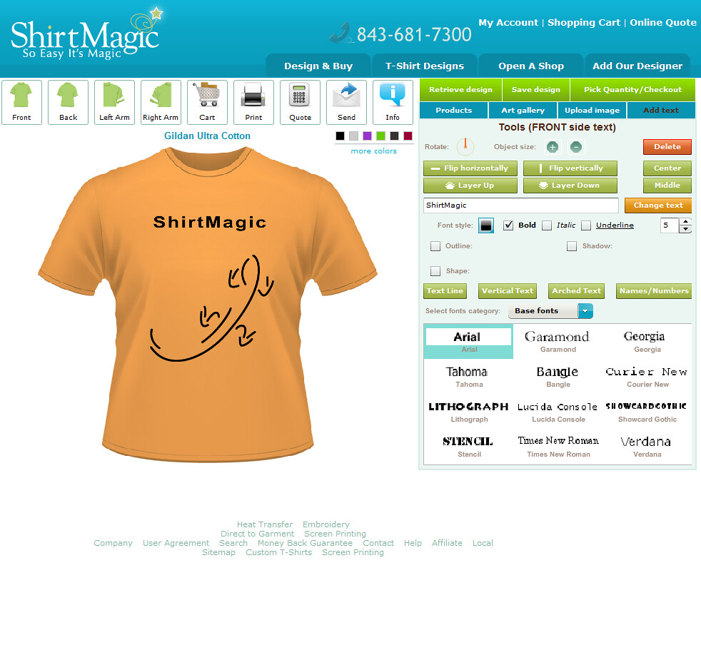 Custom T Shirt Design Software And Application Tool By Cbs Flickr