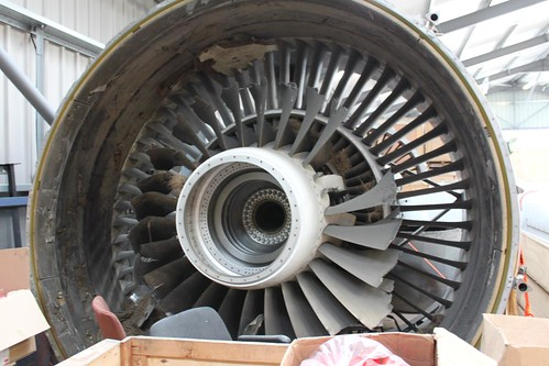 New Rolls Royce >> Destroyed Rolls Royce Trent 800 Engine | Guess what this ...