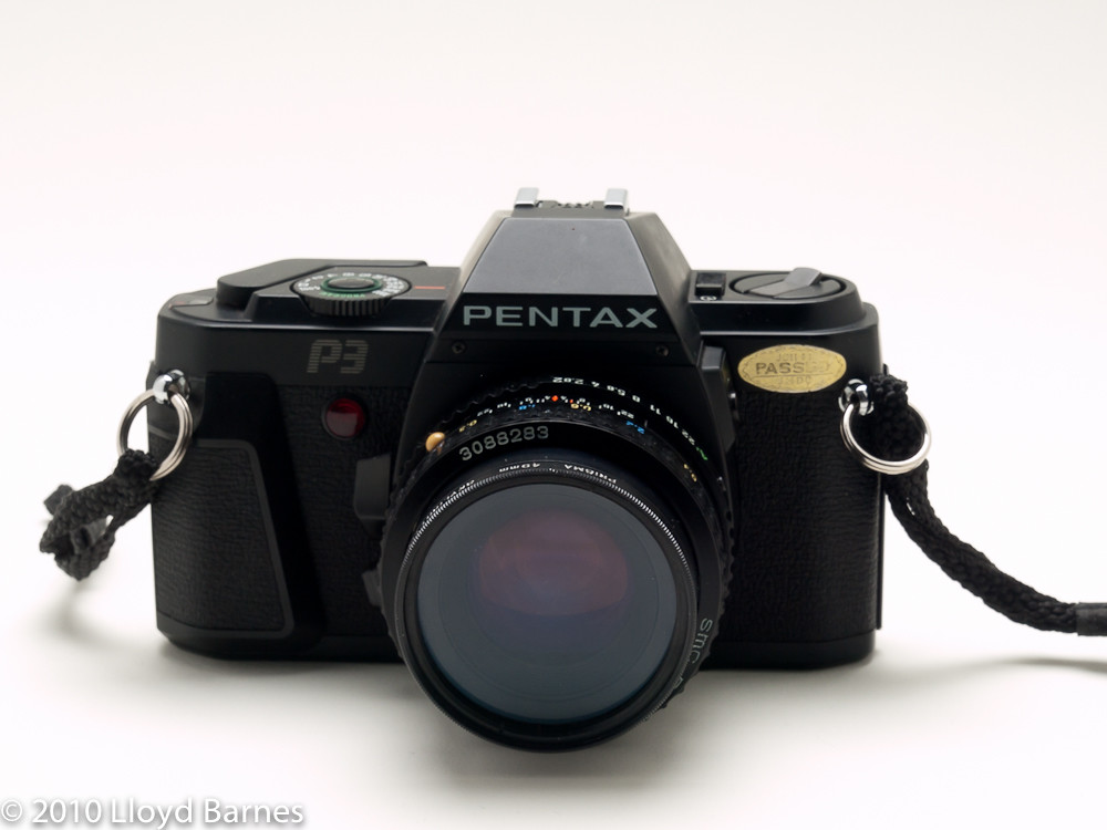 Pentax P3 35mm Slr Camera 1985 1988 This Is One Of The