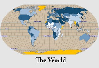 The world military map | by ryan.buck