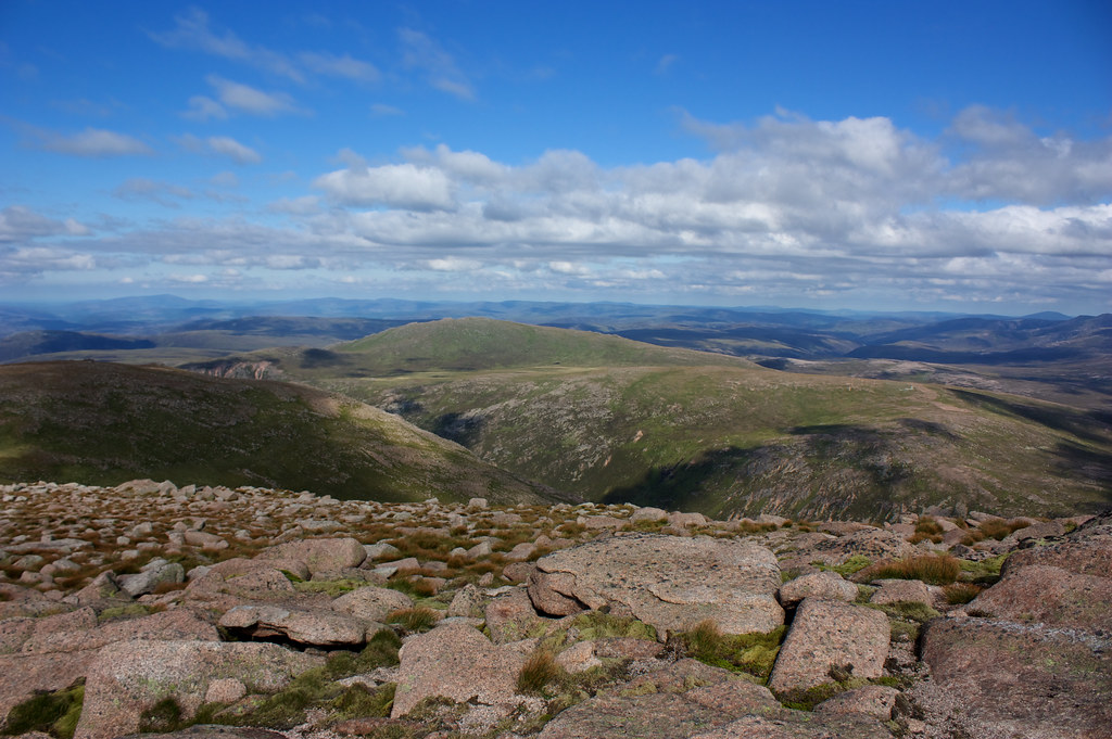 Bynack More from Cairn Gorm