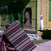 New Orleans  post Katrina early September 2005: Thelma's beauty parlor