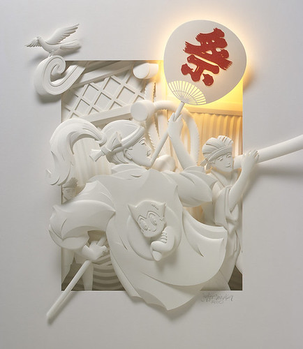 Jeff Nishinaka's 3D paper sculpture | by Nguyen Ngoc Chinh