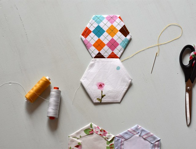 Hexagon Quilt Tutorial