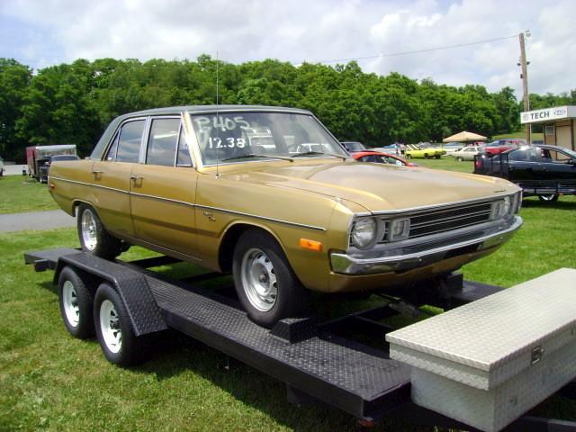 1972 Dodge Dart Custom Original Paint Original Vinyl