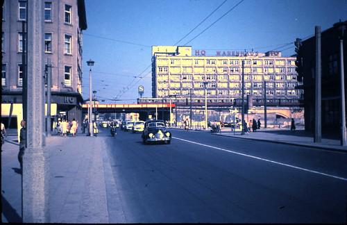 rathausstrasse east berlin 11 september 1959 alexanderpl flickr. Black Bedroom Furniture Sets. Home Design Ideas