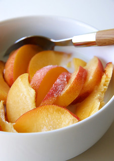 Peach Cereal | by Croquer a pleines dents