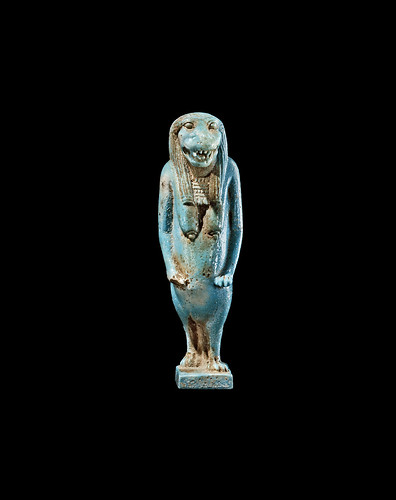 Ancient Egypt: Faience Amulet | by Samuel Merrin