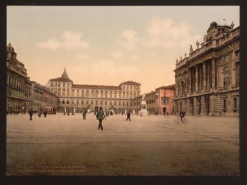 [Castle Place with Royal and Madama Palaces, Turin, Italy] (LOC) | by The Library of Congress