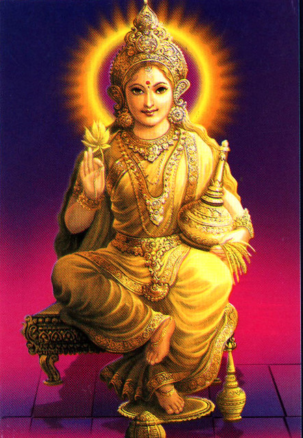Why Lakshmi never stays firm at a particular place ?