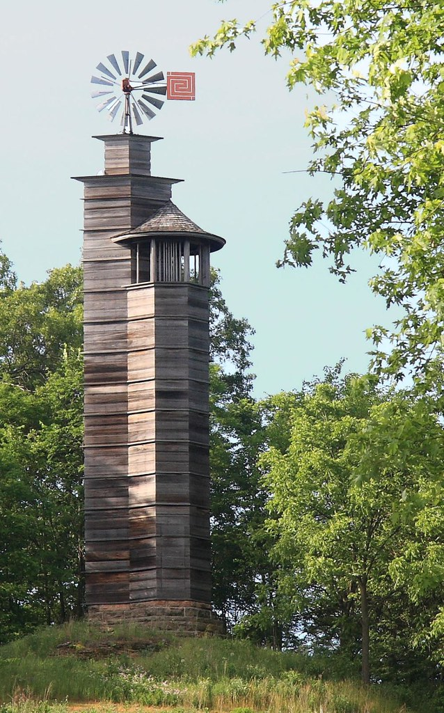 Frank Lloyd Wright Taliesin >> Romeo and Juliet Windmill Tower at Frank Lloyd Wright's Ta ...