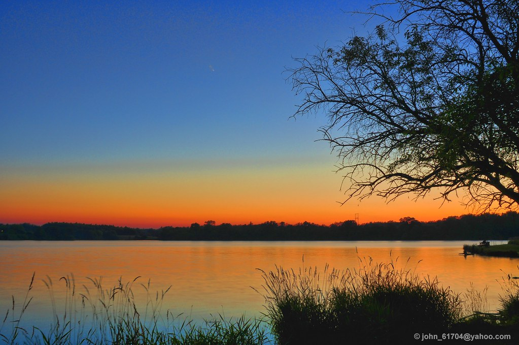 Evergreen Lake Bloomington Il Usa 24 Mm F 8 Hdr 0